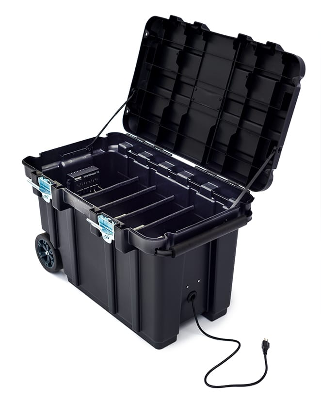Laser tag mobile caddy