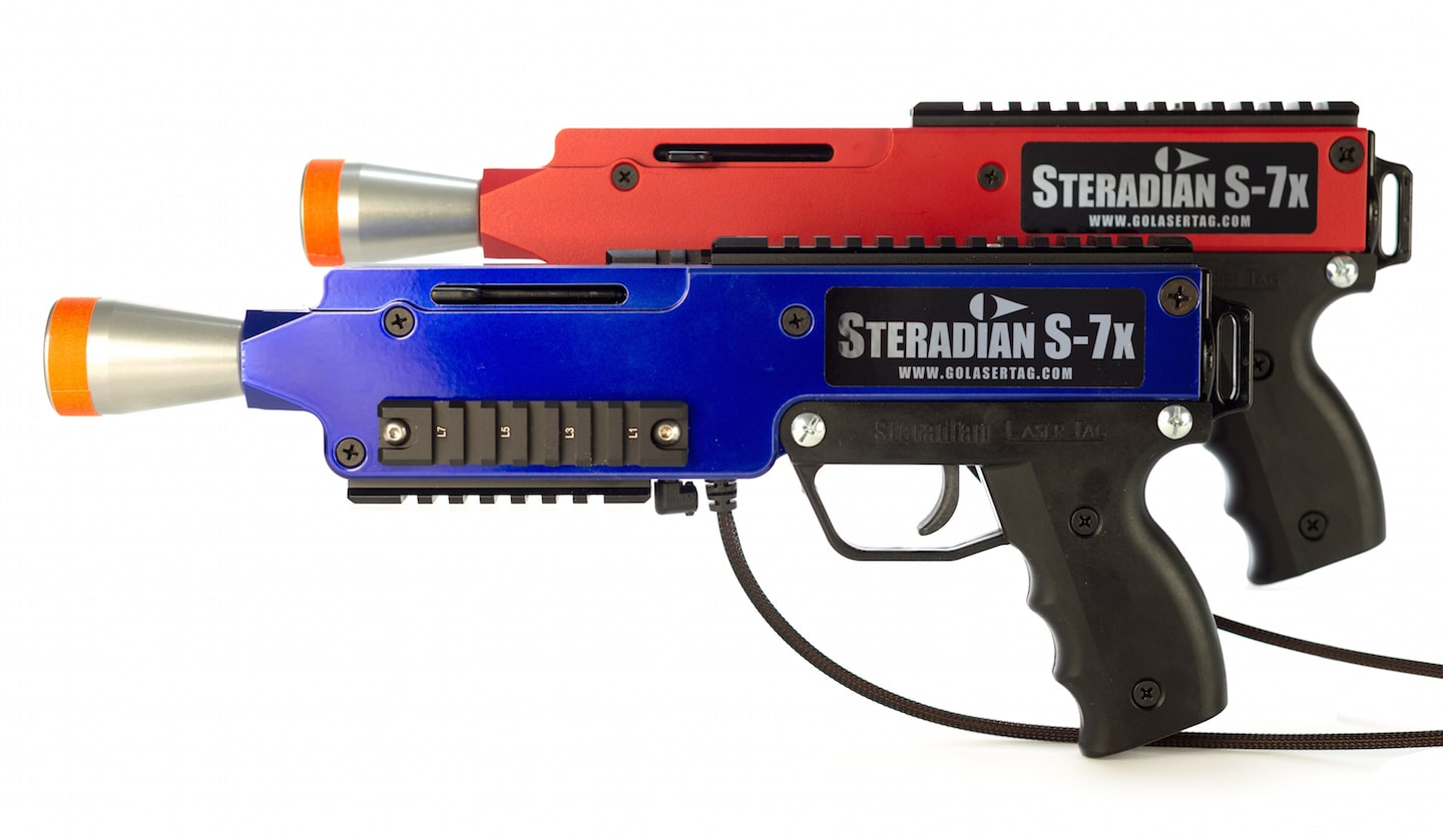 Laser+tag+gun+red+and+blue